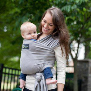 Nosič detí / šatka Boba Wrap - Grey