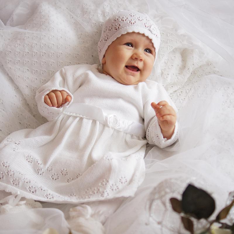 EKO Súprava ku krstu dievčenská veľ. 68