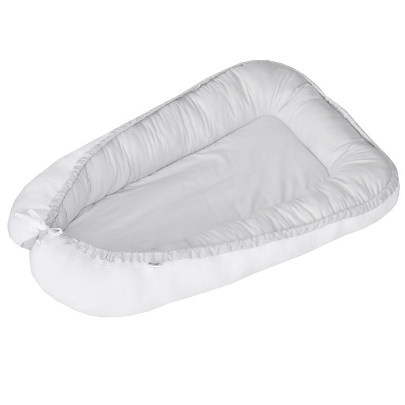 EKO Hnízdo pro miminko oboustranné White-Gray 90x60cm