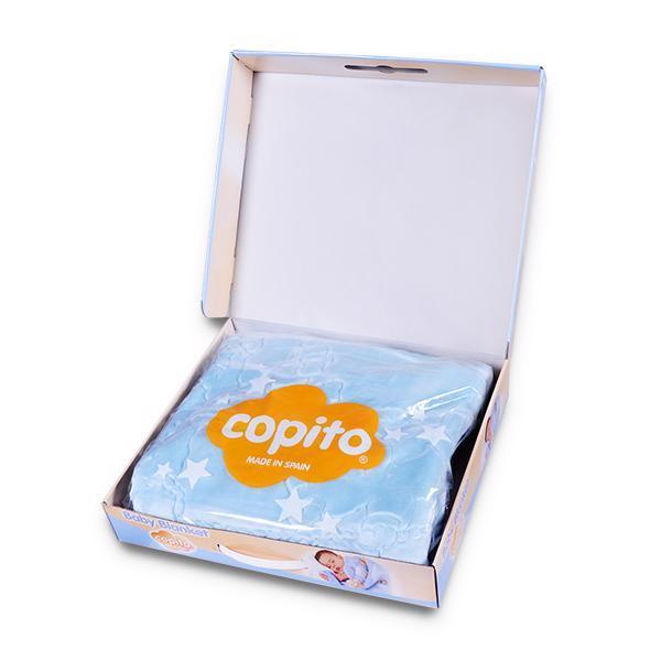 COPITO GOLD Deka španielska detská 548 Blue 110 x 140