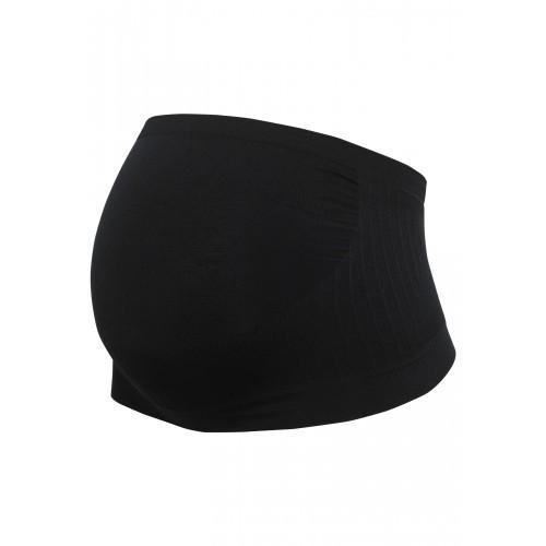 CARRIWELL Tehotenský podporný pás cez bruško čierny XL