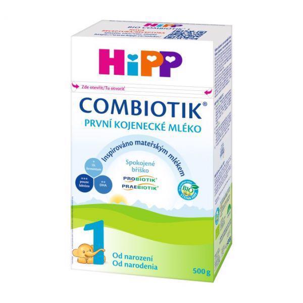 Mlieko dojčenské 1 počiatočné BIO Combiotik 500g Hipp