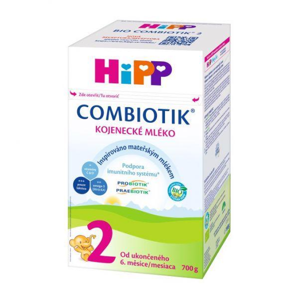 Mlieko dojčenské 2 pokračovacie BIO Combiotik 700g Hipp
