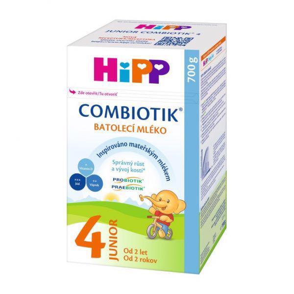 Mlieko dojčenské 4 batoľacie Junior Combiotik 700g Hipp