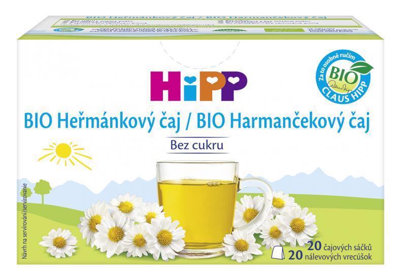 Čaj BIO harmančekový 20x1,5g Hipp
