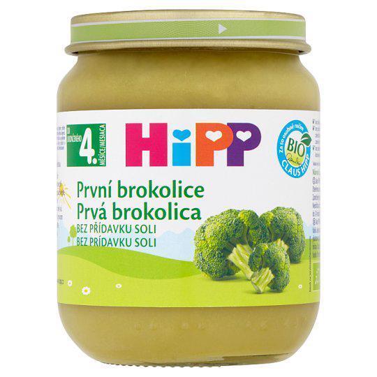 Príkrm zeleninový BIO Prvá brokolica 125g Hipp