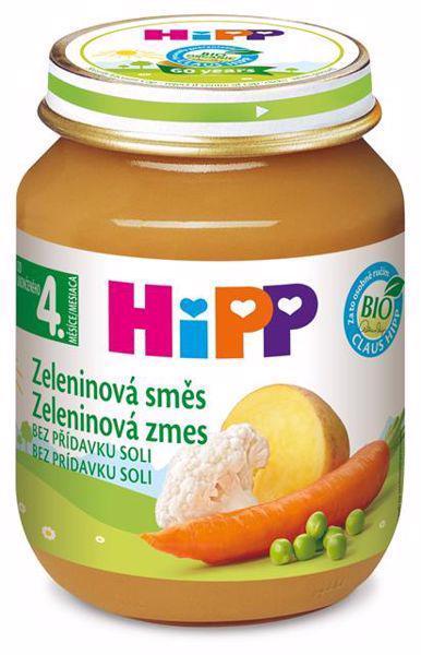 Príkrm zeleninový BIO Zeleninová zmes 125g Hipp