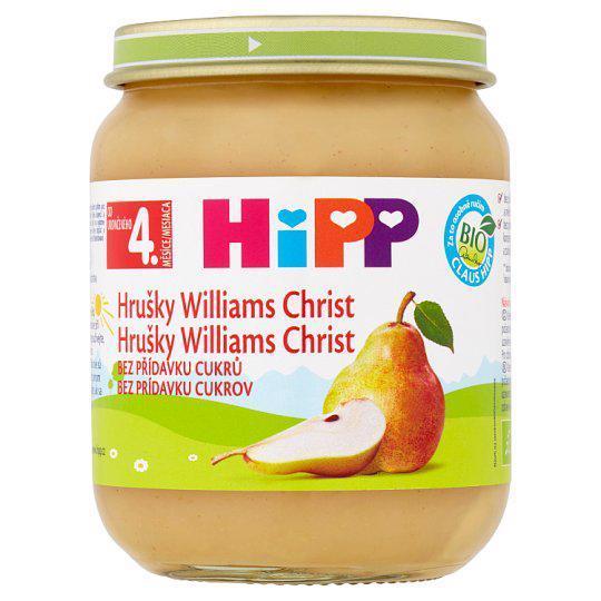 Príkrm ovocný Hruškový Williams-Christ 125g Hipp