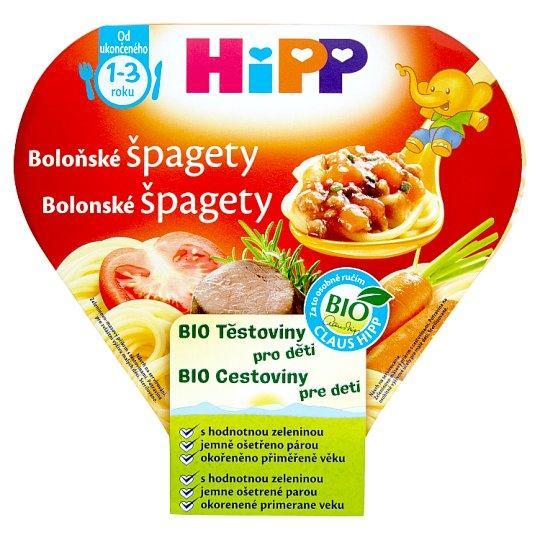 Príkrm zeleninovo-mäsový BIO Bolonské špagety 250g Hipp