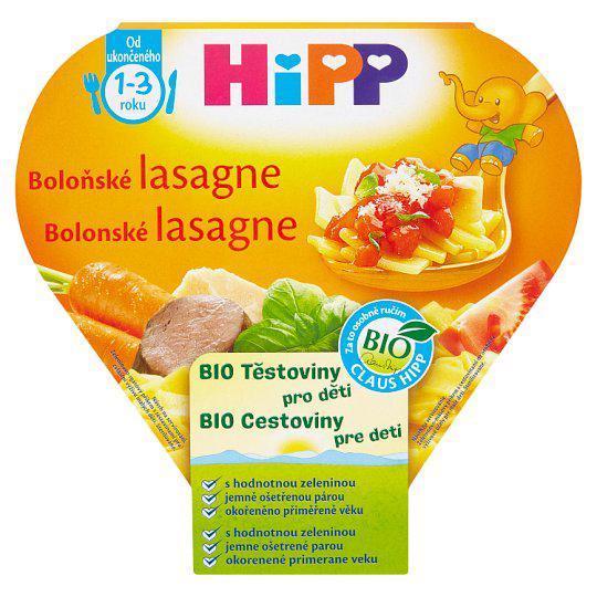 Príkrm zeleninovo-mäsový BIO Bolonské lasagne 250g Hipp