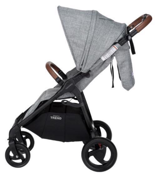 VALCO BABY Kočík športový Snap 4 Trend Black Grey Marle