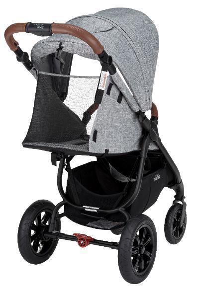 VALCO BABY Kočík športový Snap 4 Sport Trend Black Grey Marle