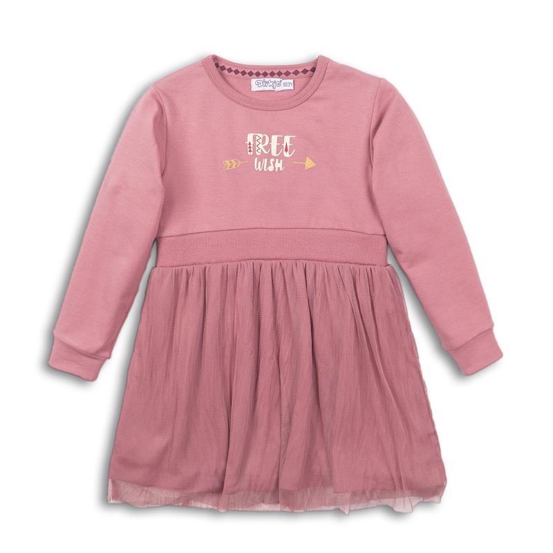 DIRKJE Šaty D-LOVE 74 Dark old pink