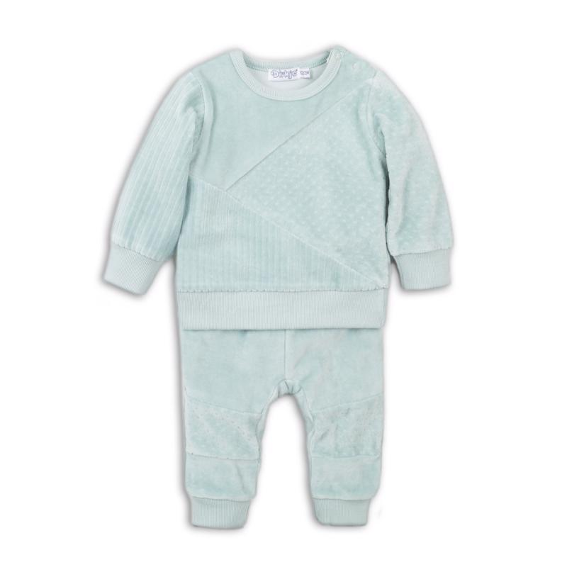 Set 2-dielny D-BOY STAY COZY 68 Light Green