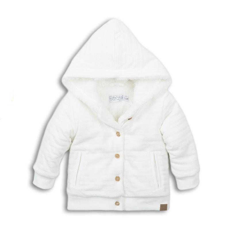 Mikina s kapucňou D-BOY STAY COZY 68 Off white