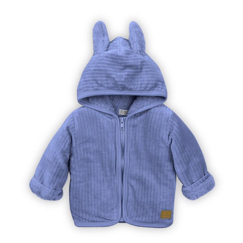 Mikina s kapucňou D-BOY STAY COZY 86 Blue