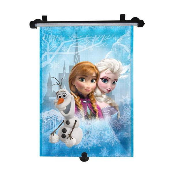 Tienidlo na okno auta sťahujúce 1 ks Frozen