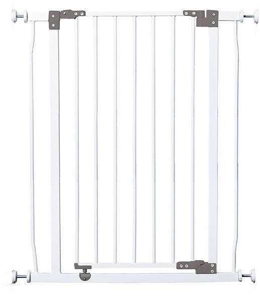 DREAMBABY Zábrana Liberty bezpečnostná extra-vysoká 75-81 cm biela,  V001344