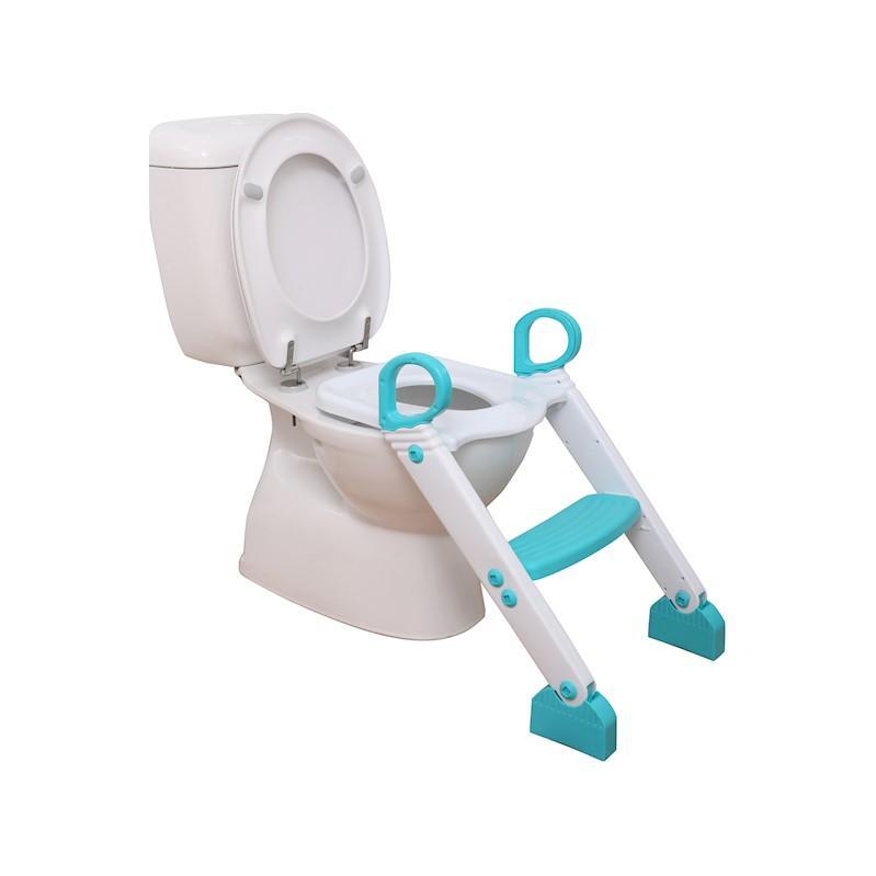DREAMBABY Stupienok k WC modro/biela,  V001333