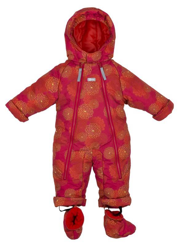 Kombinéza zimní kojenecká Bilblo děvče růžová 74