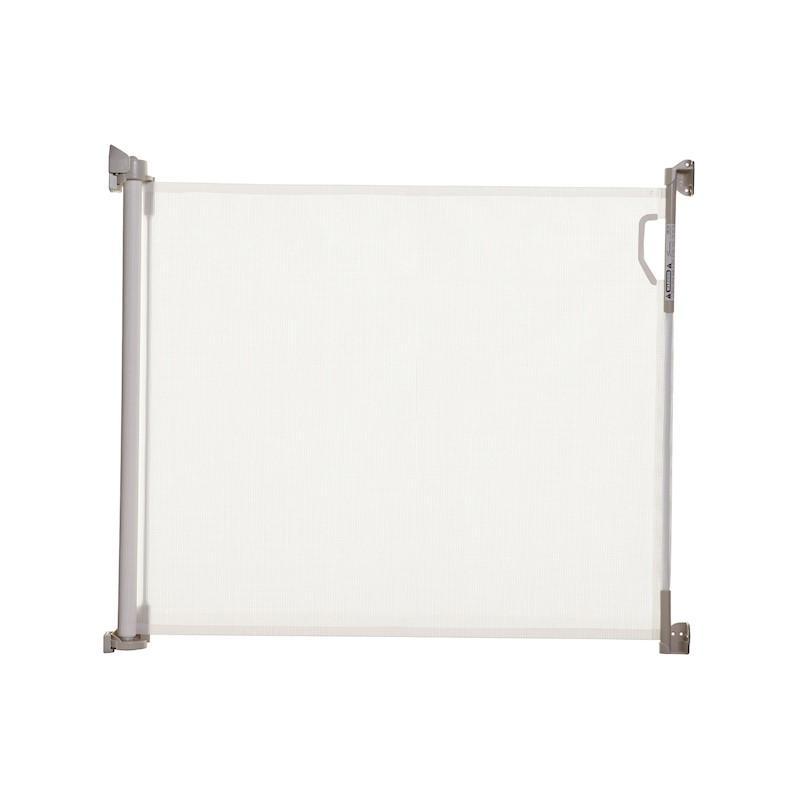 DREAMBABY Zábrana bezpečnostní zatahovací 0-140 cm bílá