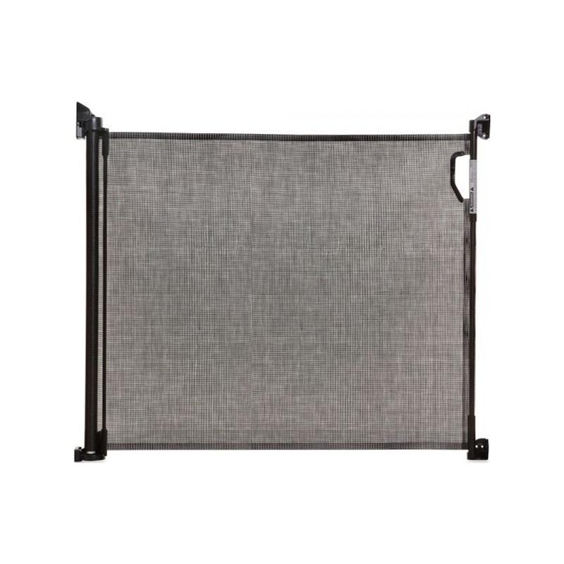 DREAMBABY Zábrana bezpečnostní zatahovací 0-140 cm černá