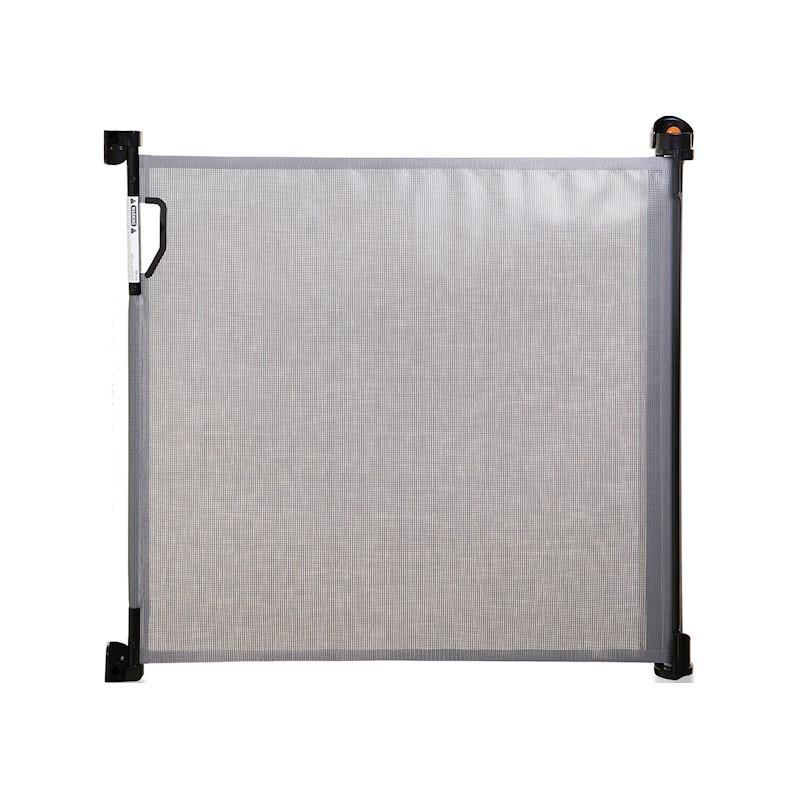 DREAMBABY Zábrana bezpečnostní zatahovací 0-140 cm šedá