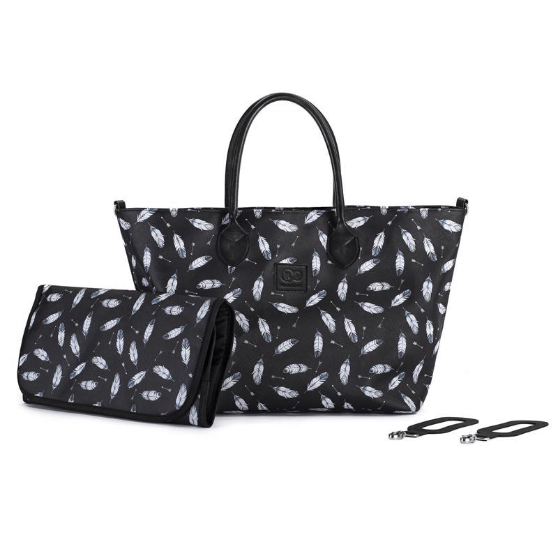 Taška prebaľovacia Mommy Bag Black Kinderkraft