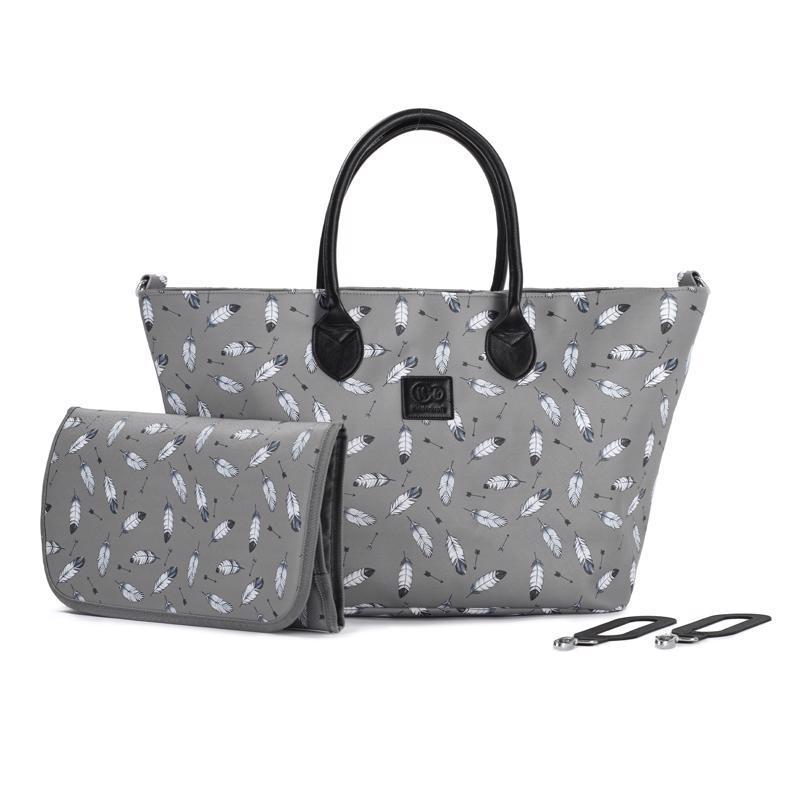 Taška prebaľovacia Mommy Bag Grey Kinderkraft