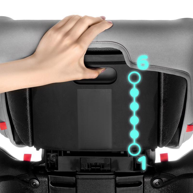 Autosedačka Concept Black/Gray 9-36 kg Kinderkraft
