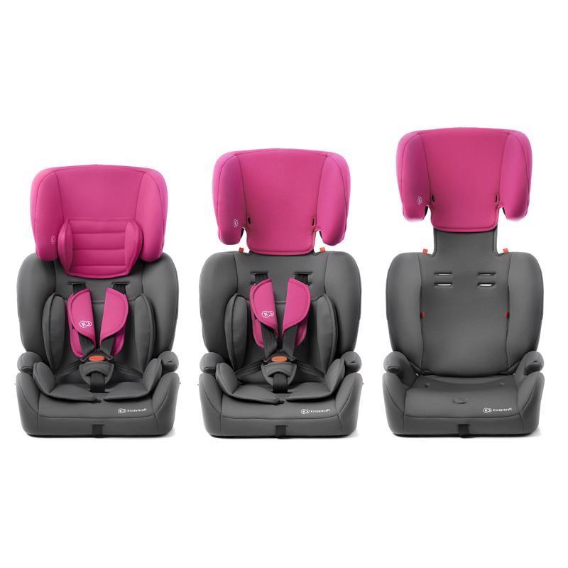 Autosedačka Concept Pink 9-36 kg Kinderkraft