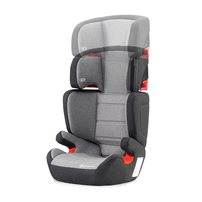Autosedačka Junior Fix Isofix Black/Gray 15-36 kg Kinderkraft