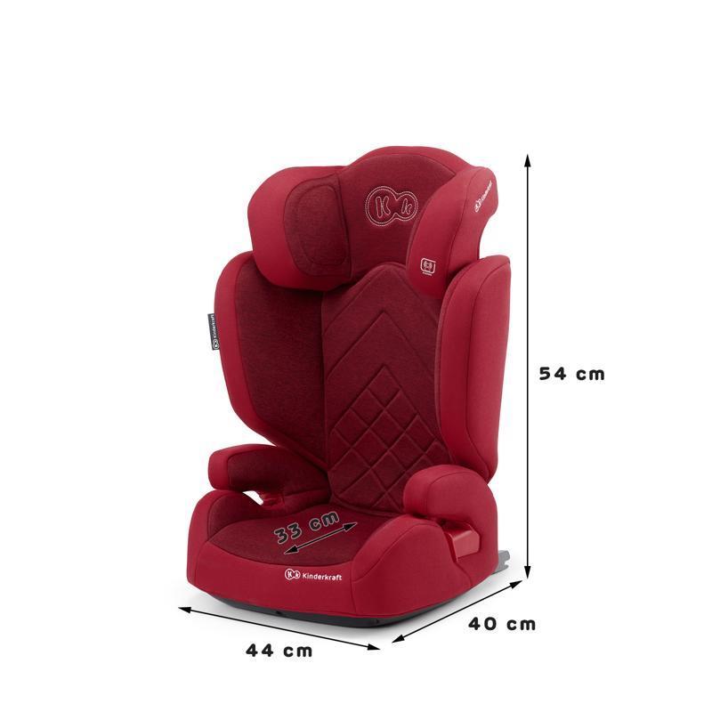 KINDERKRAFT Autosedačka Xpand Isofix Red 15-36 kg