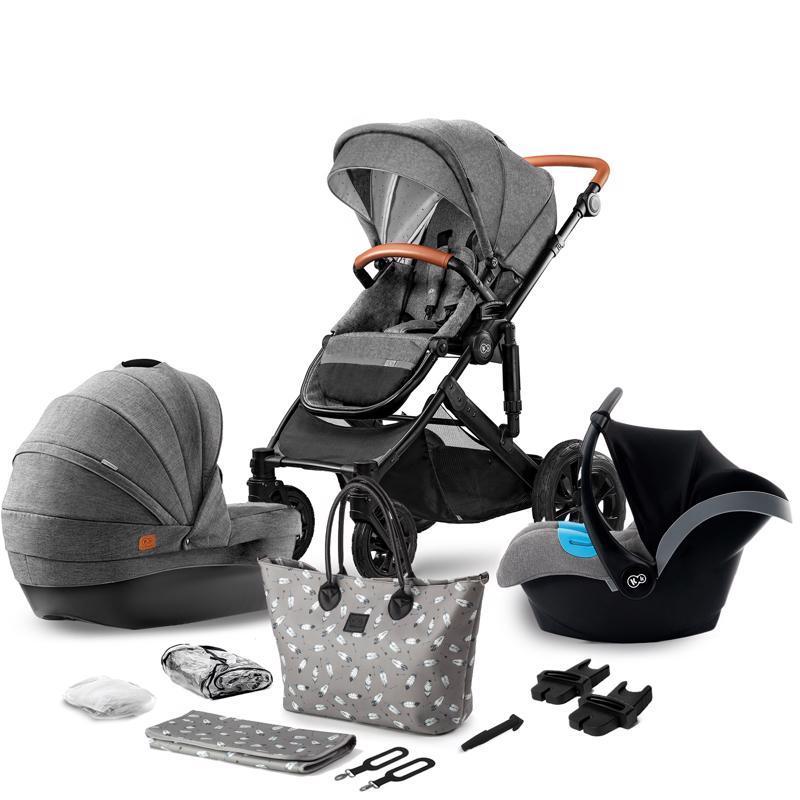 Kočík kombinovaný Prime 3v1 grey Kinderkraft 2020