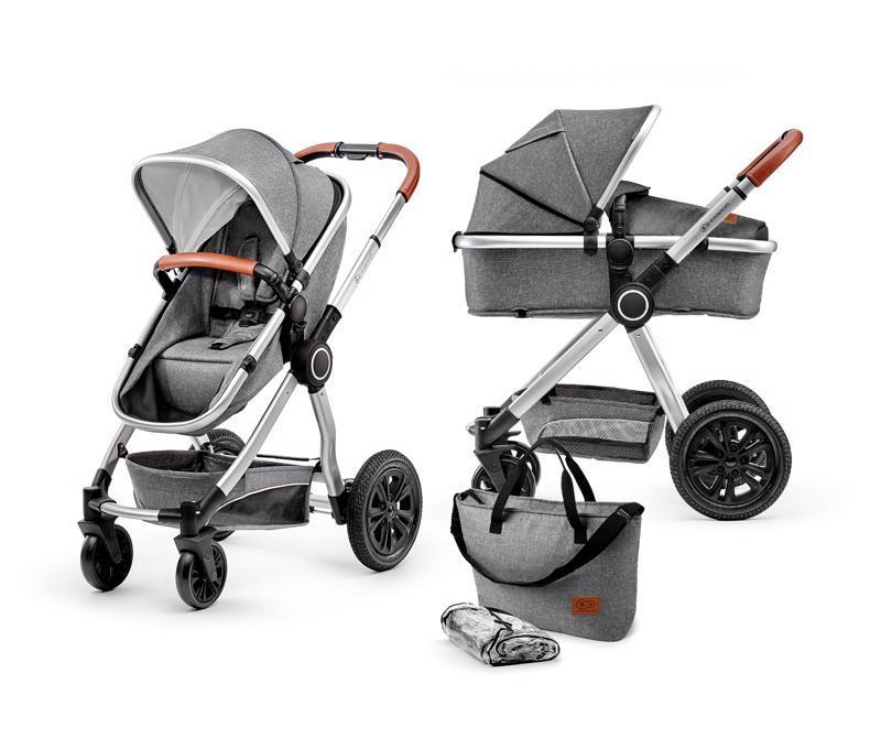 Kočík kombinovaný Veo grey 2v1 Kinderkraft 2019