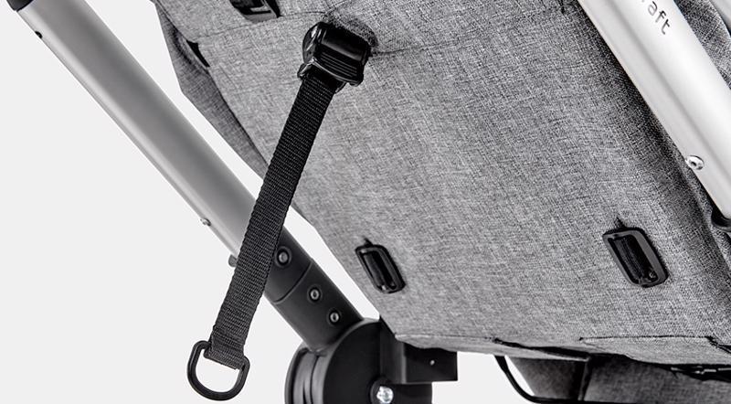 KINDERKRAFT Kočík kombinovaný Veo 2v1 Grey