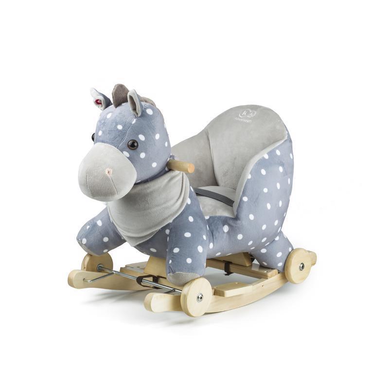 Hojdačka s melódiou horse gray Kinderkraft 2019/2020