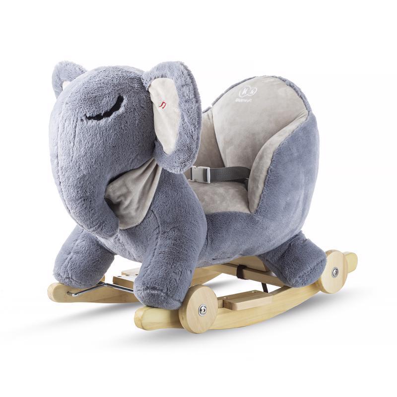 Hojdačka s melódiou elephant gray Kinderkraft 2019/2020