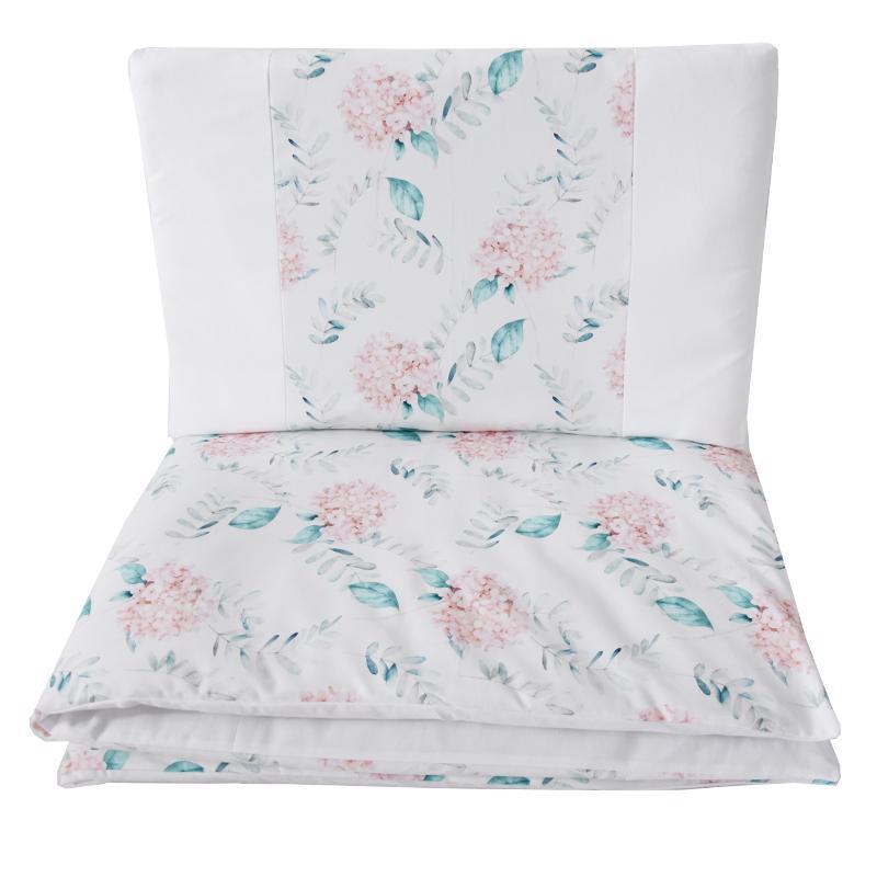 Bielizeň posteľná 2-dielna Hydrangea 90x120cm + 40x60cm