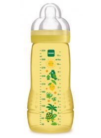 MAM ľahev Baby Bottle Paradise Island 330 ml, 4+ m žltá