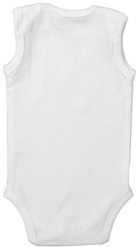 Body bez rukávov Basics 86 White
