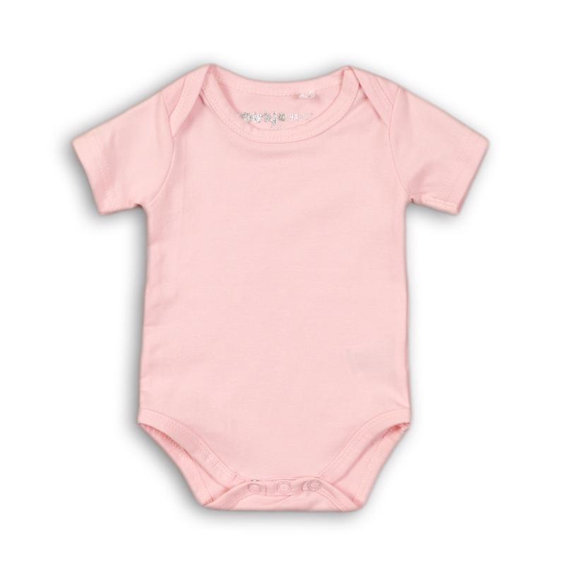Body krátky rukáv Basics 62/68 Pink