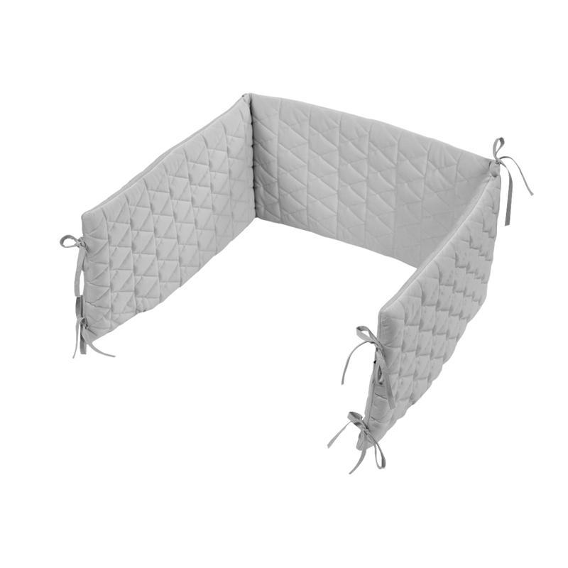 KLUPS Mantinel ochranný do postieľky 180x30 cm Velvet Grey,  V000636