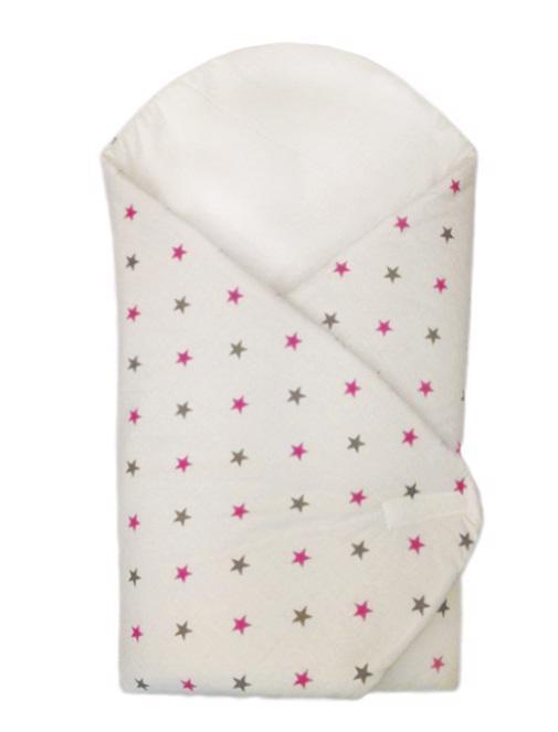EKO Zavinovačka, ružové hviezdičky 75x75 cm