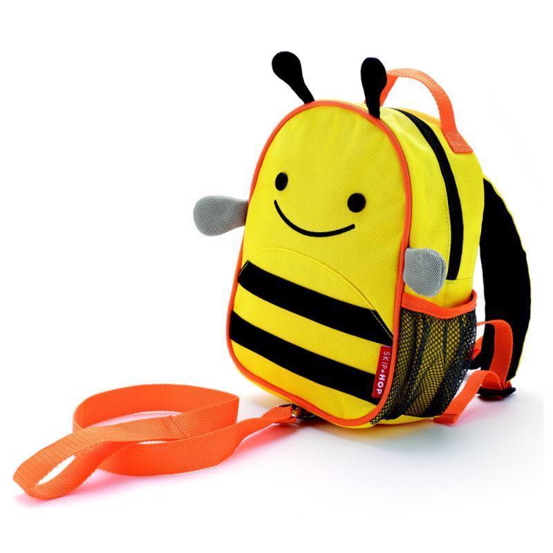 SKIP HOP Zoo Batôžtek s bezpečnostným vodítkom Včielka 1+