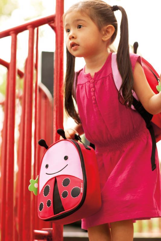 SKIP HOP Zoo Batôžtek s bezpečnostným vodítkom Lienka 1+