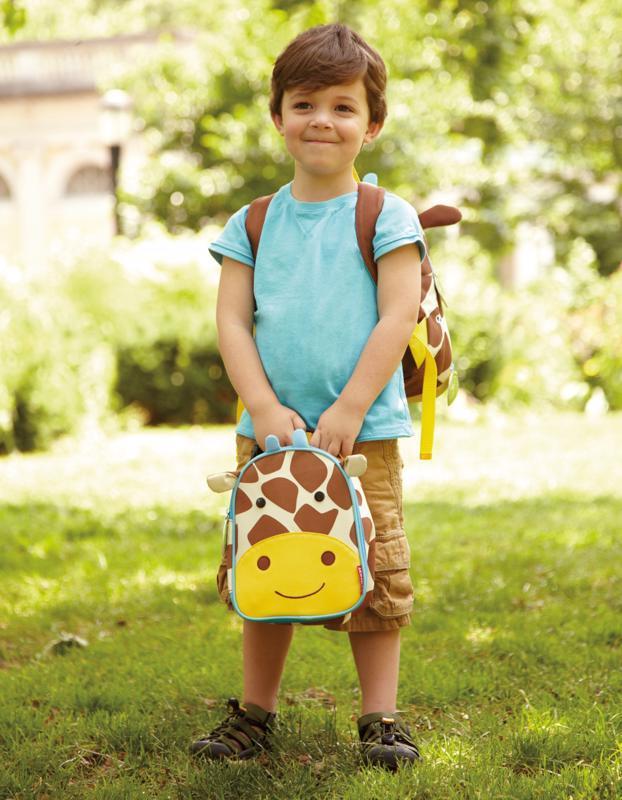 SKIP HOP Zoo Batôžtek s bezpečnostným vodítkom Žirafa 1+