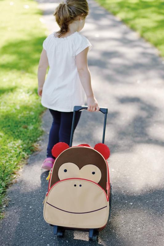 SKIP HOP Zoo Kufor cestovný Opička 3+