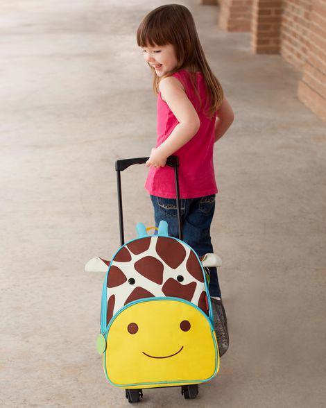 SKIP HOP Zoo Kufor cestovný Žirafa 3+