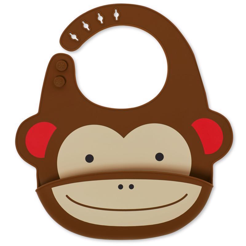 Zoo Podbradník silikónový Opička 6m+
